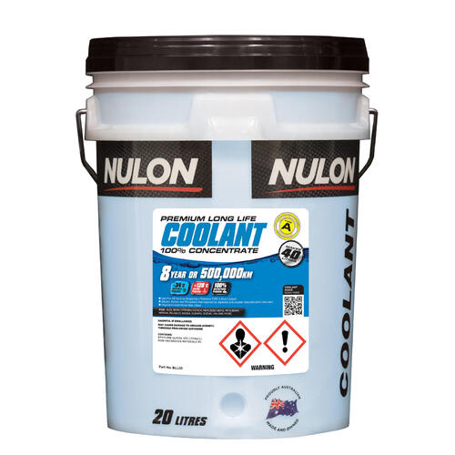 Nulon Blue Long Life Coolant Concentrate  20 Litre (BLL20)