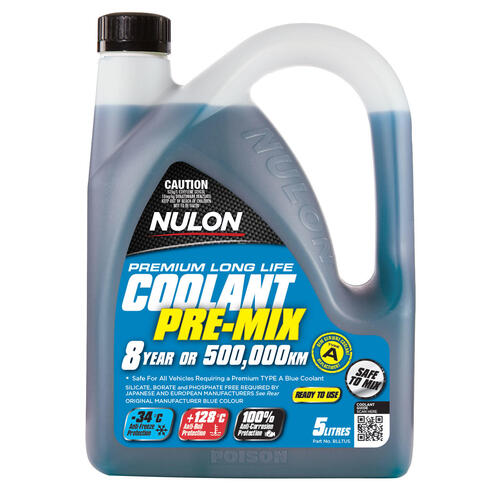 Nulon Blue Long Life Coolant Top-Up  5 litre (BLLTU5)