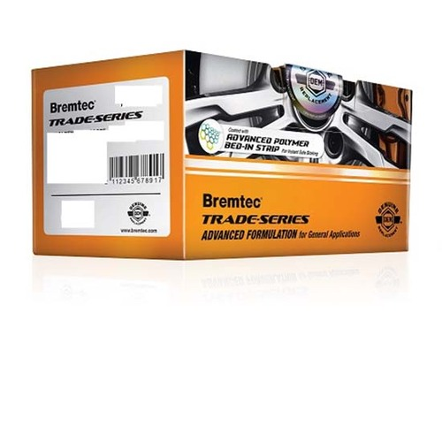 Bremtec FRONT General Purpose Brake Pads BT123TS (DB1255)
