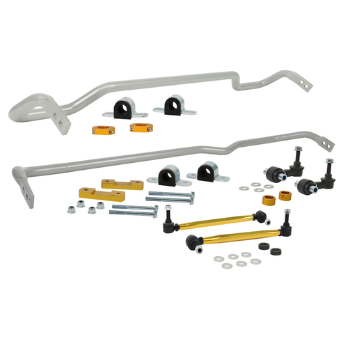 Whiteline Front and Rear Sway bar - vehicle kit (BWK018)