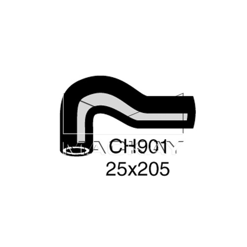 Mackay Engine By Pass Hose  - CHRYSLER CENTURA . - 4.0L I6  PETROL - Manual & Auto (CH901) PLUS BONUS HOSE CLAMPS