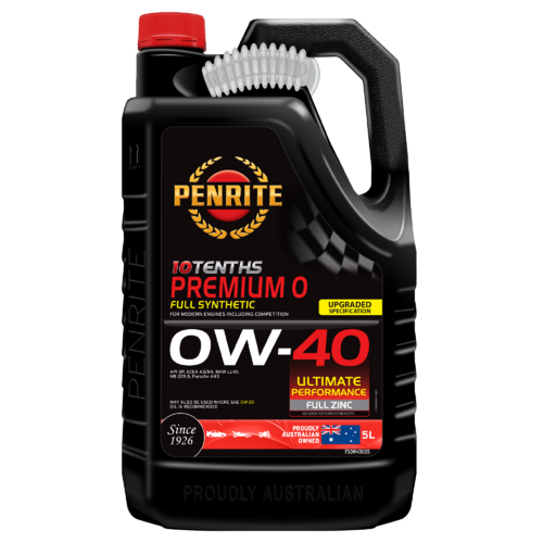 PENRITE  10 Tenths Premium 0w40 Full Synthetic Premium Performance Engine Oil 5LTR FS0W40005