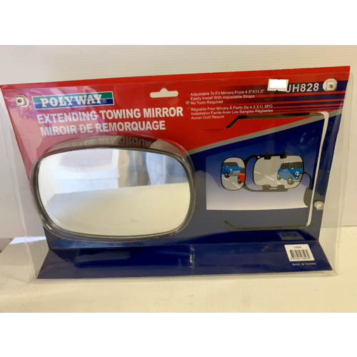 Polyway Extending Towing Mirror (JH828)