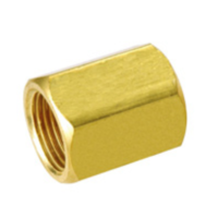 Prospeed Double Female Sleeve 1/8in x 1/8in Brass Fitting (PS-000001)