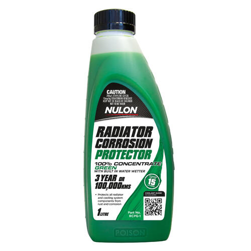 Nulon Radiator Corrosion Protector Green 1 litre Bottle (RCPG-1)