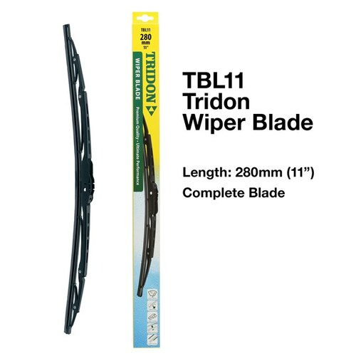 Tridon Complete Wiper Blade 11 inch / 280mm (TBL11)