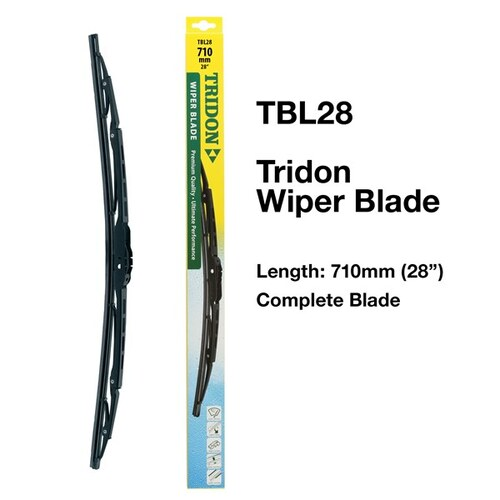 Tridon Complete Wiper Blade 28 inch / 710mm (TBL28)