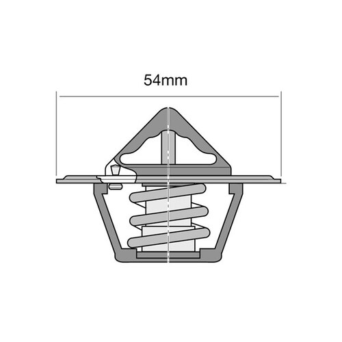 Tridon Thermostat Blistered (High Flow) (TT2000-180)