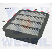 Wesfil Air Filter (WA1032) suits A1408 Ford/