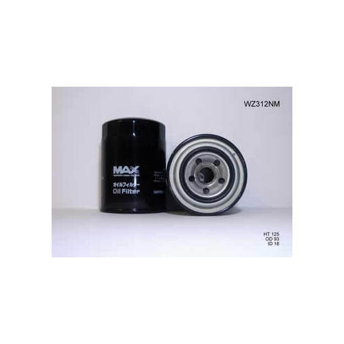 Nippon Max Oil Filter (WZ312NM) suits Z312/Z110 Daihatsu