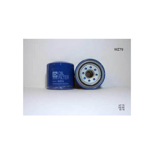 Wesfil Oil Filter (WZ79) suits Oil Filter Z79 Multi Applic.